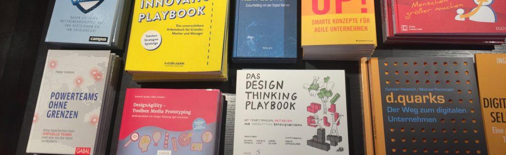 DesignAgility prominent platziert!